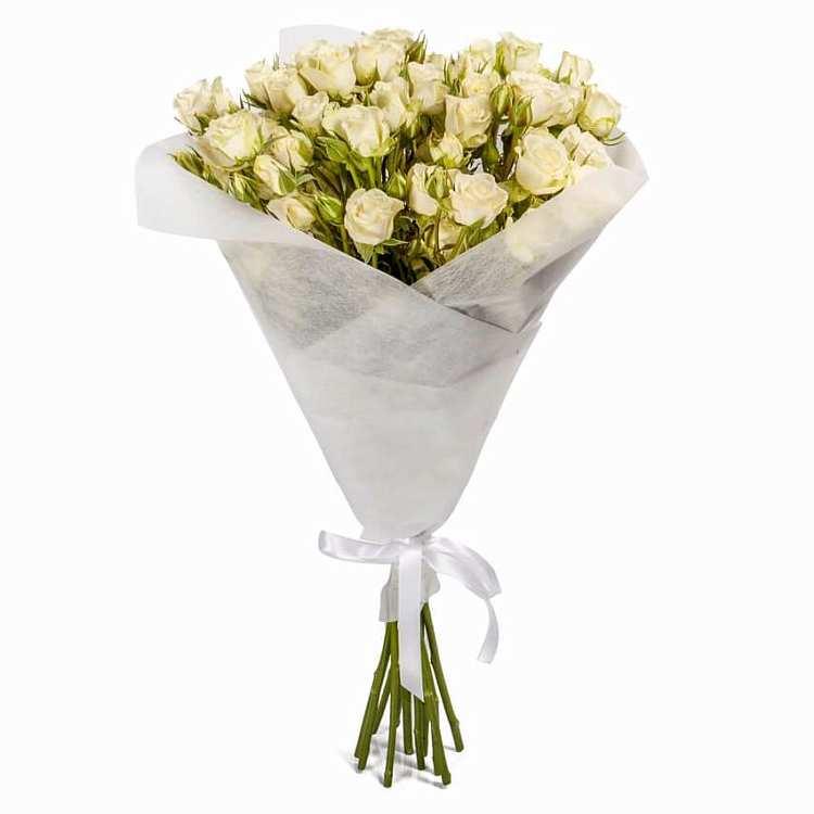 Готовые букет из мини розы, цветов советская гавань